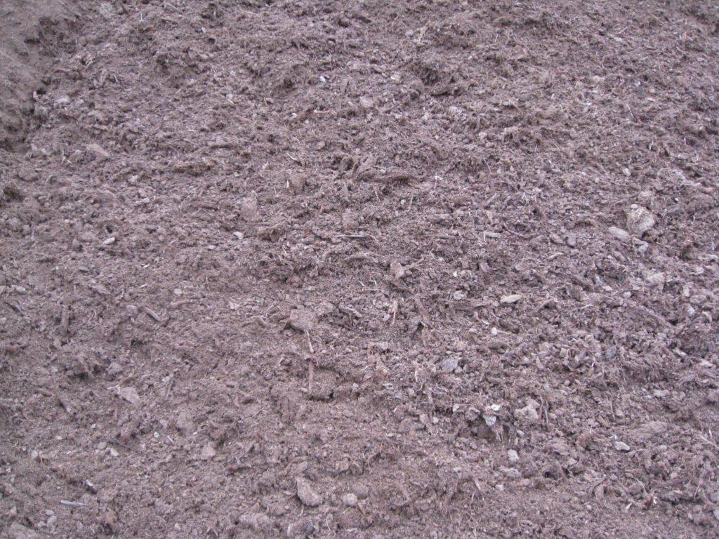 White loose peat