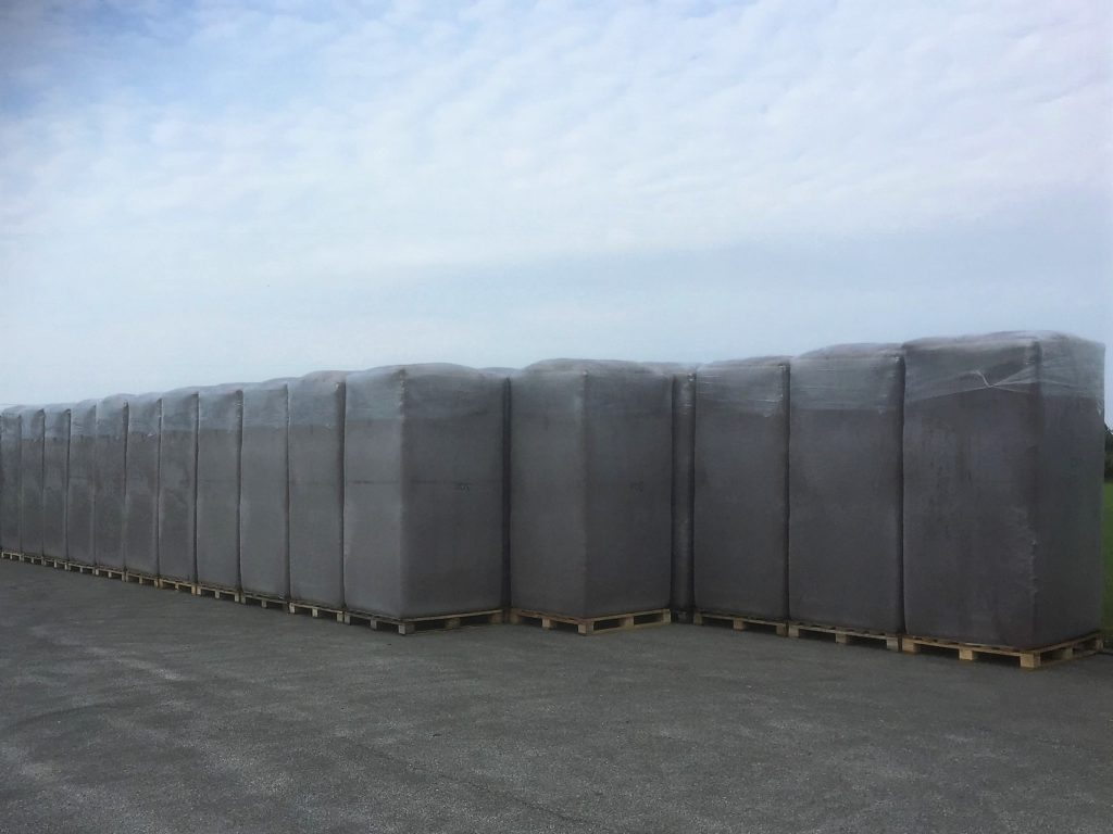 White peat in 6000L bales (Big Bale)