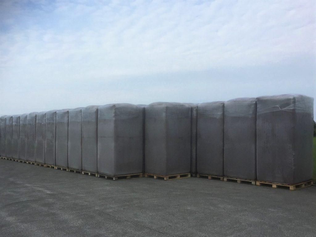 Vähelagunenud turvas pakitud 6000L kilekotti (Big Bale)